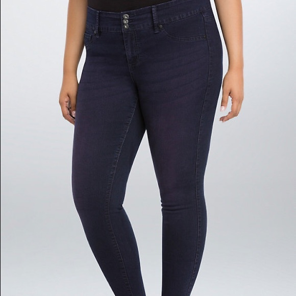 torrid Denim - TORRID SIZE 20 CANDY VIOLET WASH JEGGINGS